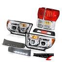 テールライト 2007-2013 Toyota Tundra SR5 Tail Lamps Headlamps Bumper DRL Roof Cab Lamp SMD 2007-2013トヨタトンドラSR5テールランプヘッドランプバンパーDRLルーフキャブランプSMD