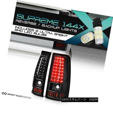 テールライト Full SMD Backup 03-06 Chevy Silverado 1500 2500 3500 C-SHAPE LED Rear Tail Light フルSMDバックアップ03-06 Chevy Silverado 1500 2500 3500 C-SHAPE LEDリアテールライト