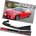 エアロパーツ Fits 01-02 Toyota Celica Poly JDM Front Bump...