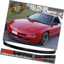 エアロパーツ Fits 93-97 Ford Probe OE Style PU Front Bump...