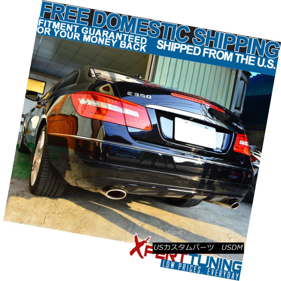 10-17 W207 C207 E-Class 2Dr 2Door Coupe CF Carbon Fiber AMG Style Trunk Spoiler