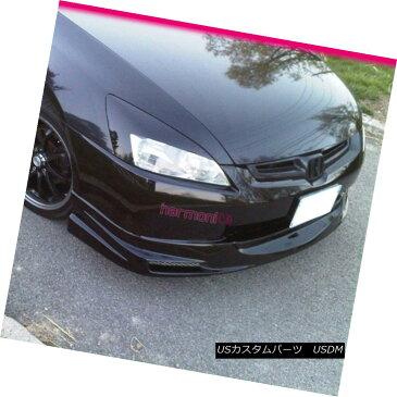 エアロパーツ Fits 03 04 05 Honda Accord 4Door Mug Urethane Front Bumper Lip Spoiler Bodykit フィット03 04 05ホンダアコード4ドアマスクウレタンフロントバンパーリップスポイラーボディキット