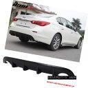 エアロパーツ For 14-17 Infiniti Q50 Rear Bumper Lip Spoil...