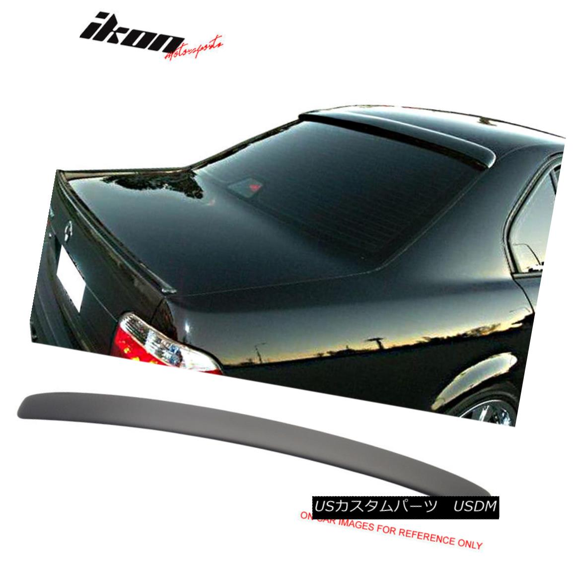 外装・エアロパーツ, その他  Fits 95-02 BMW E38 7 Series AC Style Painted Matte Black Roof Spoiler Wing 95-02 BMW E38 7AC