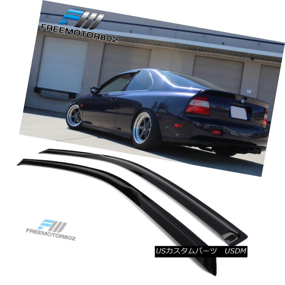 Fits 94-97 Honda Accord Coupe Acrylic Window Visors 2Pc