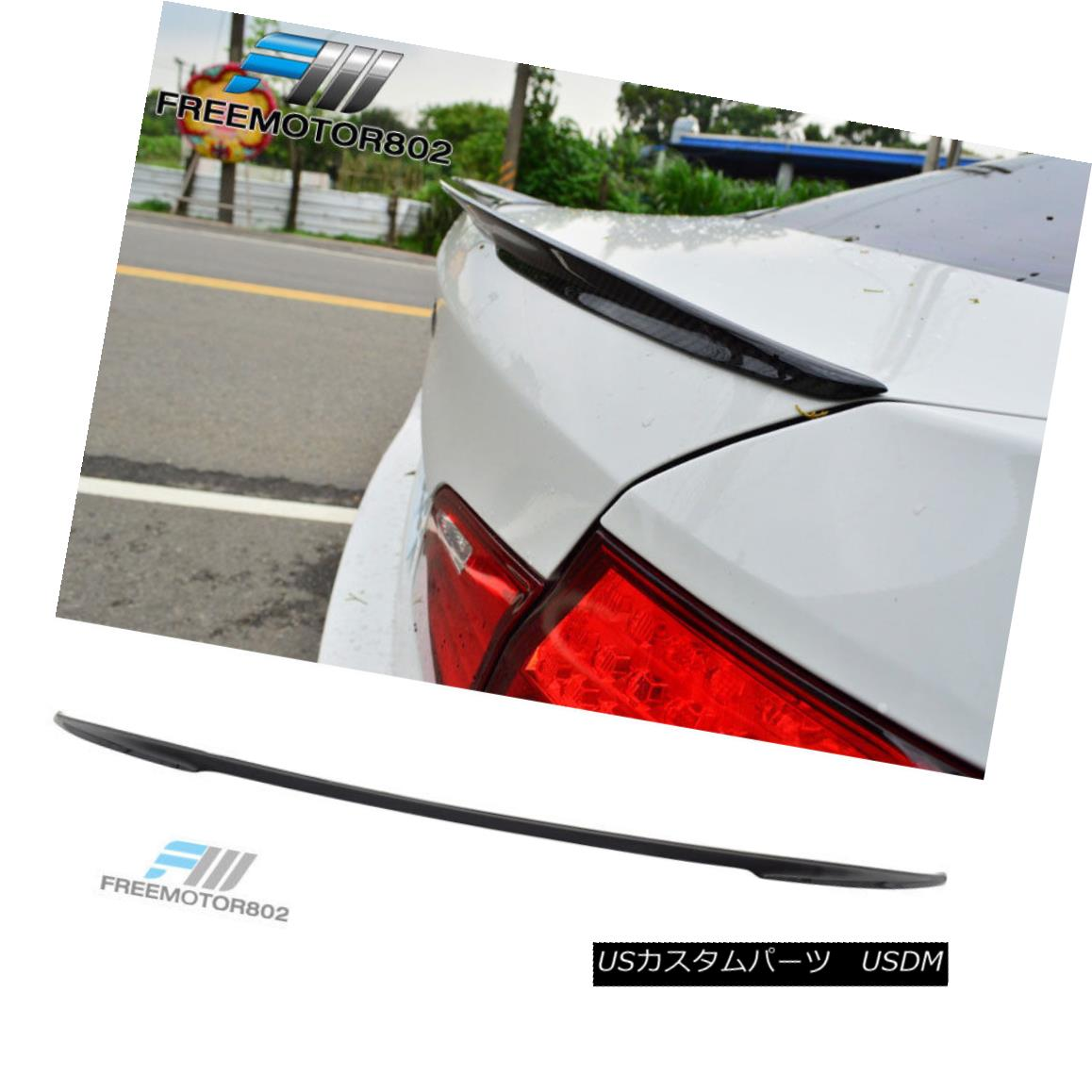Fit For 11-16 BMW 5-Series F10 Sedan P #668 Painted Trunk Spoiler