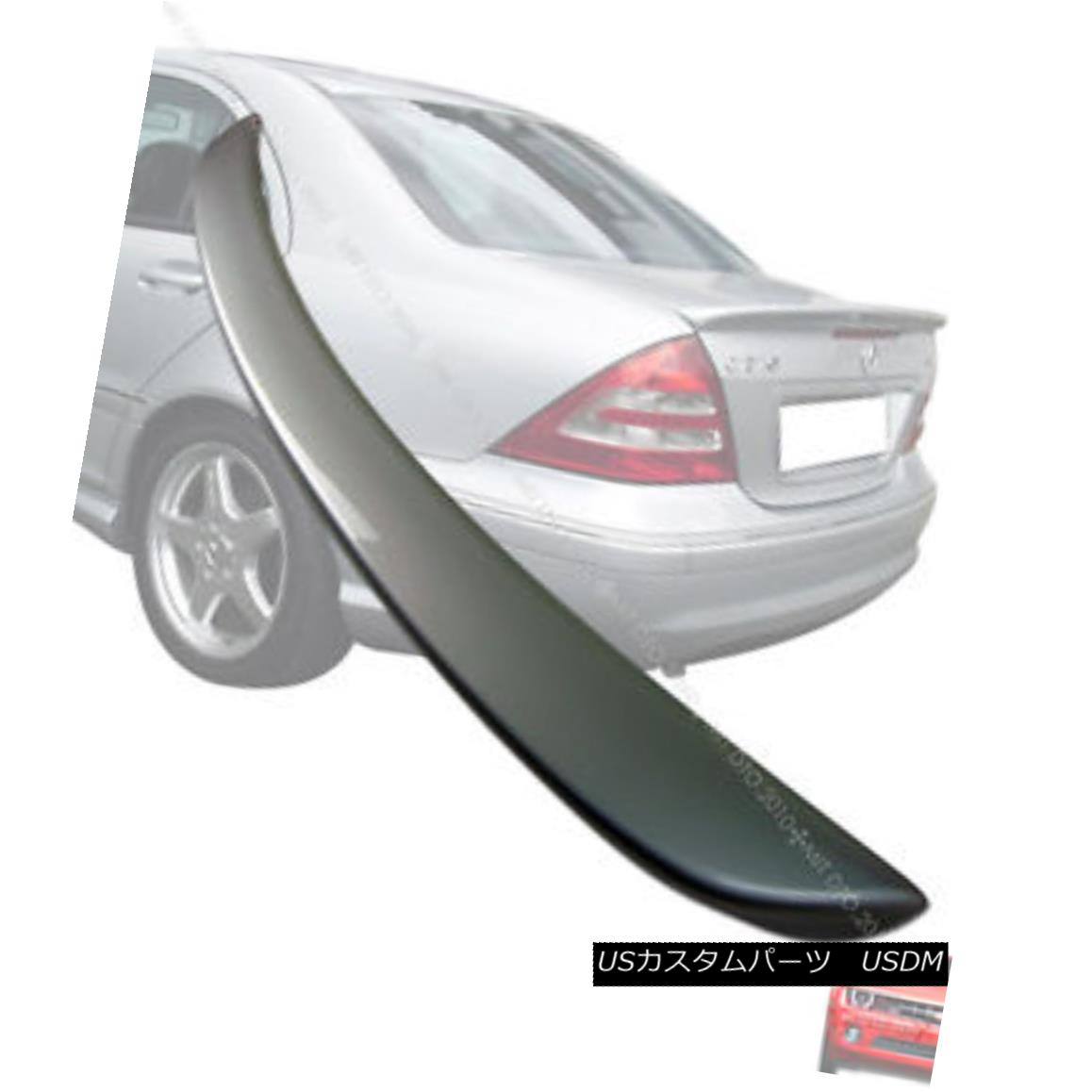 2001 2007 mercedes benz w203 a c class trunk spoiler painted silver 744 2001 2007. Black Bedroom Furniture Sets. Home Design Ideas