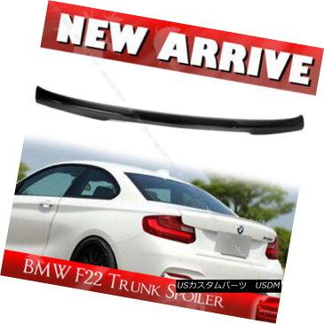 エアロパーツ Carbon For BMW 2-Series F22 Coupe M4-Style Trunk Spoiler New 228i 235i BMW 2シリーズF22クーペM4スタイルトランク・スポイラー用新カーボン228i 235i