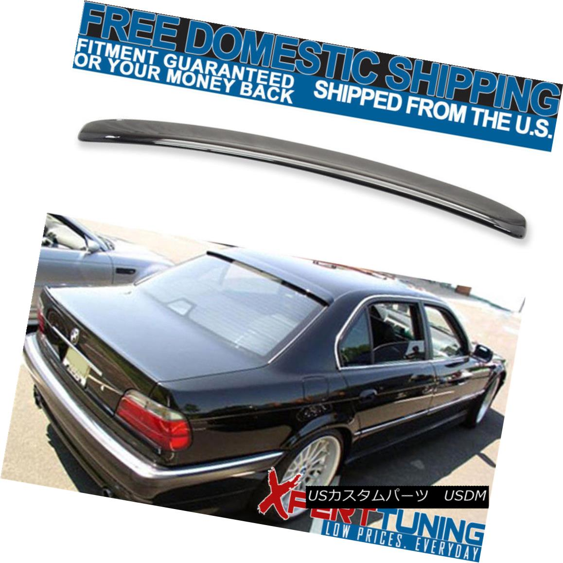 外装・エアロパーツ, その他  95-01 BMW E38 7-Series 4Dr AC Style 303 Painted Roof Spoiler 95-01 BMW E38 74Dr AC303