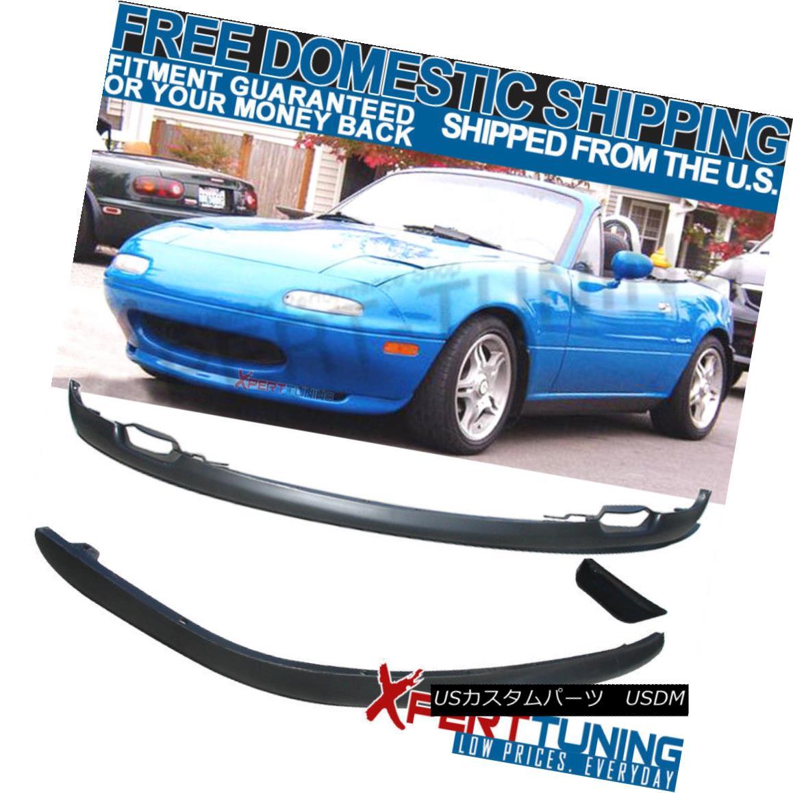 Rear Li  p Bumper PU Fits 90-97 Mazda Miata MX5 OE Factory Front