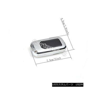 エアロパーツ Black Aluminium Key Cover Fob Case Shell Cap Fit For Honda Civic 10th 2016-2017 ブラックアルミ製キーカバーフォブケースシェルキャップフィットホンダシビック10月2016-2017