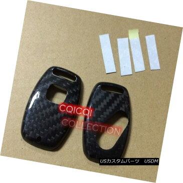 エアロパーツ Carbon Fiber Honda 06-10 Civic Key Cover ◎ 炭素繊維ホンダ06-10シビックキーカバー?