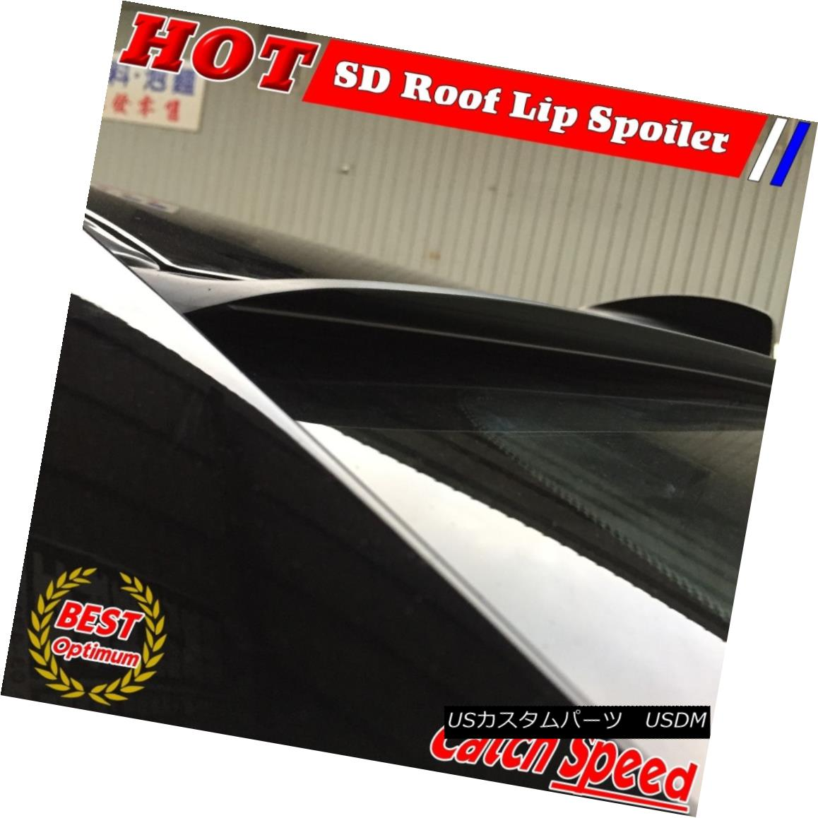 Painted VRS Type Rear Window Wing Roof Spoiler For Cadillac 11-15 CTS-V Coupe