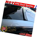 エアロパーツ Flat Black VRS Rear Roof Spoiler Wing For Fo...
