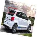 エアロパーツ VW VOLKSWAGEN POLO 6R AND POLO CROSS WRC LOOK REAR ROOF SPOILER NEW FROM 2009 フォルクスワーゲンポロ6RとポロクロスWRCは2009年から新しいリアスポイラーを見る