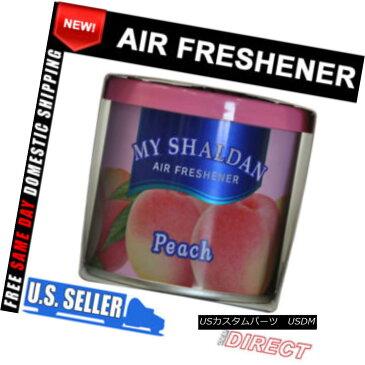エアロパーツ For My Shaldan Peach Fruit Scent Air Freshener Car Room 私のShaldanの桃フルーツ香りの空気清浄機の車の部屋