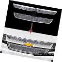 グリル 2015-2018 Chevrolet Colorado Chrome Grille Overlay...