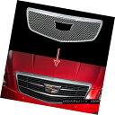 グリル 2015-2018 Cadillac ATS Chrome Snap On Grille Overl...