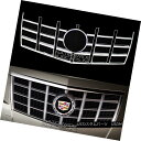 グリル 2012-13 Cadillac CTS CHROME Snap On Grille Overlay...