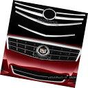 グリル fit 2013-2014 Cadillac ATS CHROME Snap On Grille O...