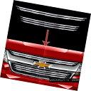 グリル 2015-2018 Chevy Colorado Chrome Snap On Grille Ove...