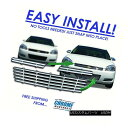 グリル For 06-11 Chevy Impala Chrome Grille Overlay - IWC...