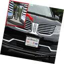 グリル Fits 2016 LINCOLN MKX 4-door, SUV (Logo Surround)-...