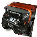 グリル Spartan Grille Insert, Land Shark; 07-18 Jeep Wran...