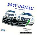 グリル Chrome Grille Overlay for 2012-2013 Cadillac CTS I...