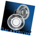 グリル Chrome Projector Headlight Lamp+Halo Ring+Glass Le...