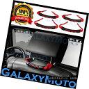 グリル Extreme RED Rear Side Grab Handle 4pcs for 07-18 J...