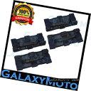 グリル Extreme 4pcs BLUE Black Rear Side Bar Grab Handle ...