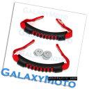 グリル Extreme RED Rear Side Grab Handle Set for 07-17 Je...