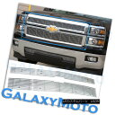 グリル 14-15 Chevy Silverado 1500 HoneyComb CHROME Billet...