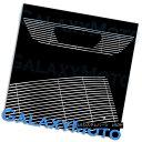 グリル 99-04 Ford Mustang V6 V8 w/ Logo Cutout Polished C...