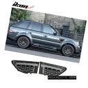 グリル Fits 10-13 Land Rover Range Rover Sport Gray Silve...