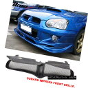 グリル Fit For 04-05 Subaru Impreza WRX Sti PU Black Fron...