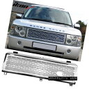グリル Fits 03-05 Land Rover Range Rover Honeycomb Chrome...