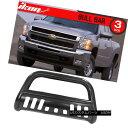 グリル Fits 01-07 Chevy Silverado 1500HD 2500HD 3500 Bull...