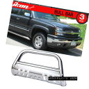 グリル Fit 99-07 Chevy Silverado 1500 LD 3in SS Bull Bar ...