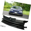 グリル 1999 - 2005 VW GOLF MK4 BADGELESS BLACK GRILL 1999...