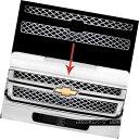 グリル 2011-2014 Silverado 2500 3500 HD CHROME Grille Ove...