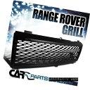 グリル 03-05 Range Rover ABS Mesh Black Front Hood Bumper...