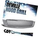 グリル Cadillac 00-05 DeVille Chrome Mesh Honeycomb ABS F...