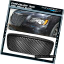グリル For 11-14 Chrysler 300 300C B-Style Front Mesh Gri...