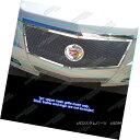 グリル Fits 2008-2013 Cadillac CTS Stainless Steel Mesh G...
