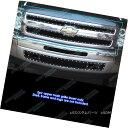 グリル Fits 2007-2013 Chevy Silverado 1500 Stainless Stee...