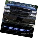 グリル Custom Fits 2003-2005 Chevy Silverado 1500 SS Blac...