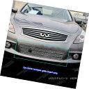 グリル Fit 2011-2013 Infiniti G25/G37 Sedan Bumper Stainl...