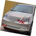 グリル Fits 08-10 Honda Odyssey Stainless Mesh Grille Gri...